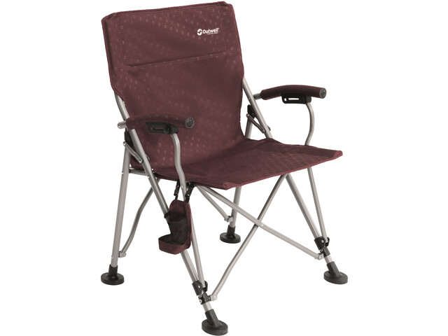 Outwell Campo Stuhl claret